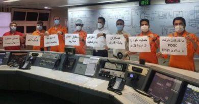 گسترش اعتصاب کارگران صنعت نفت به شهرهای مختلف ایران